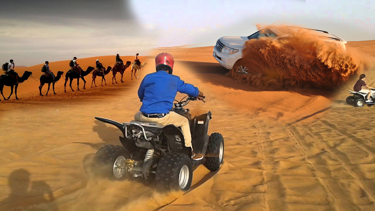 Thrilling Red Dune Safari + Quad Bike
