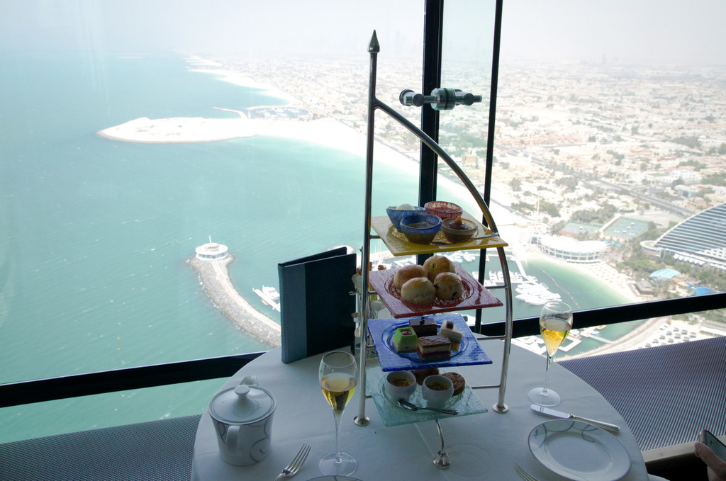 Burj Al Arab High Tea